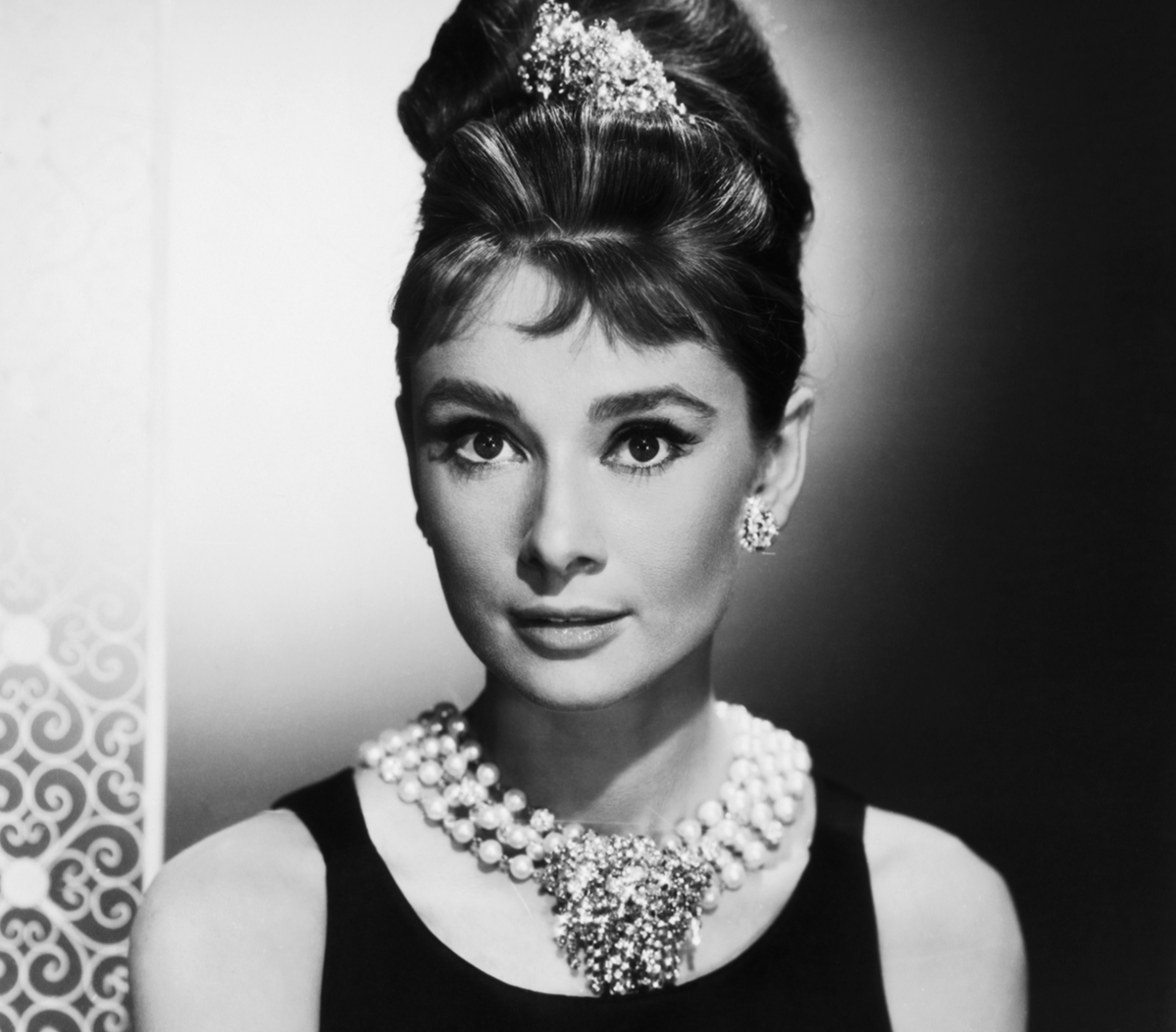 Audrey Hepburn as Holly Golightly in Breakfast at Tiffany's, 1961.