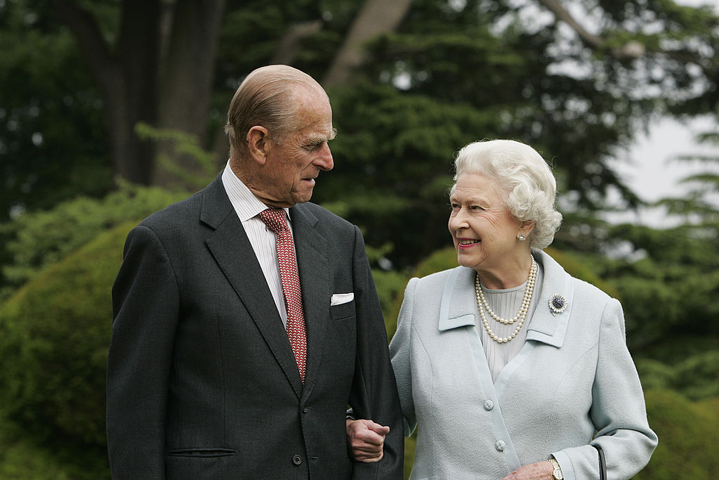 GettyImages-78104203In this image, made available November 18, 2007, HM The Queen Elizabeth II and Prince Philip, The Duke of Edinburgh re-visit Broadlands, to mark their Diamond Wedding Anniversary