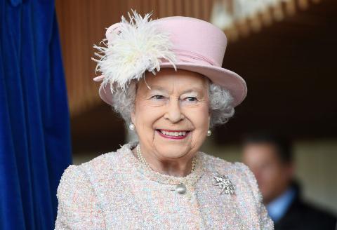GettyImages-882819120 Queen Elizabeth II is seen at the Chichester Theatre