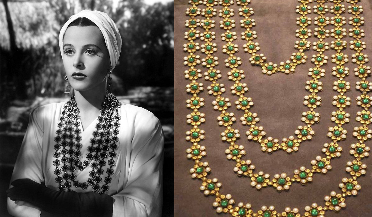 Hedy Lamar's necklace in Lady of the Tropics, 1939