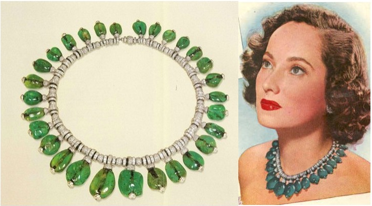 Merle Oberon in Cartier's most photographed necklace ever
