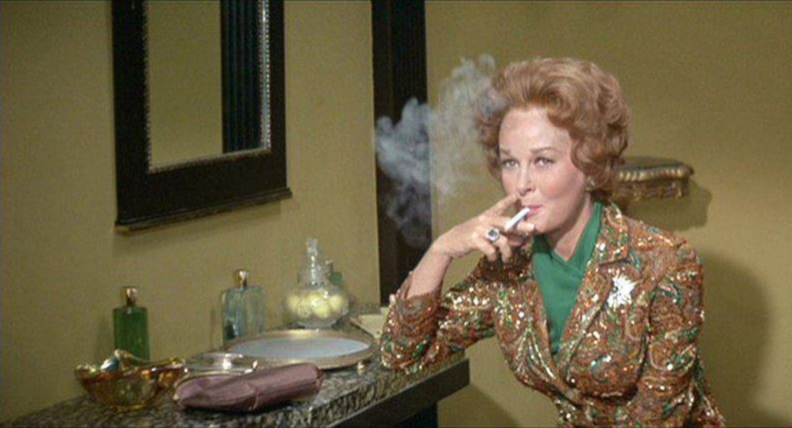 Susan Hayward in Valley of the Dolls