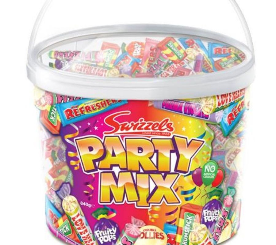 swizzels party mix basically a bucket of candies