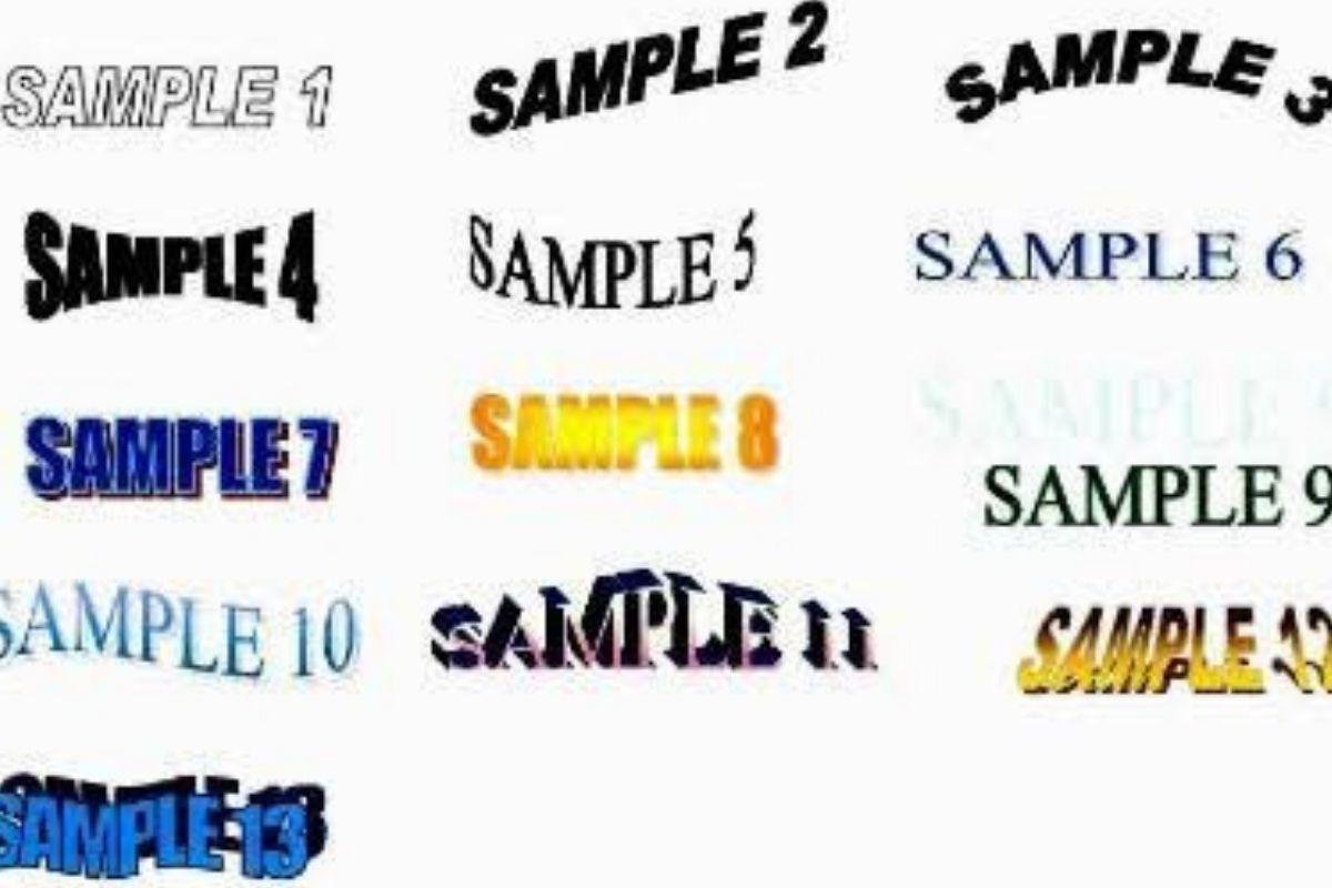 microsoft word test sizes sample 1 2 3