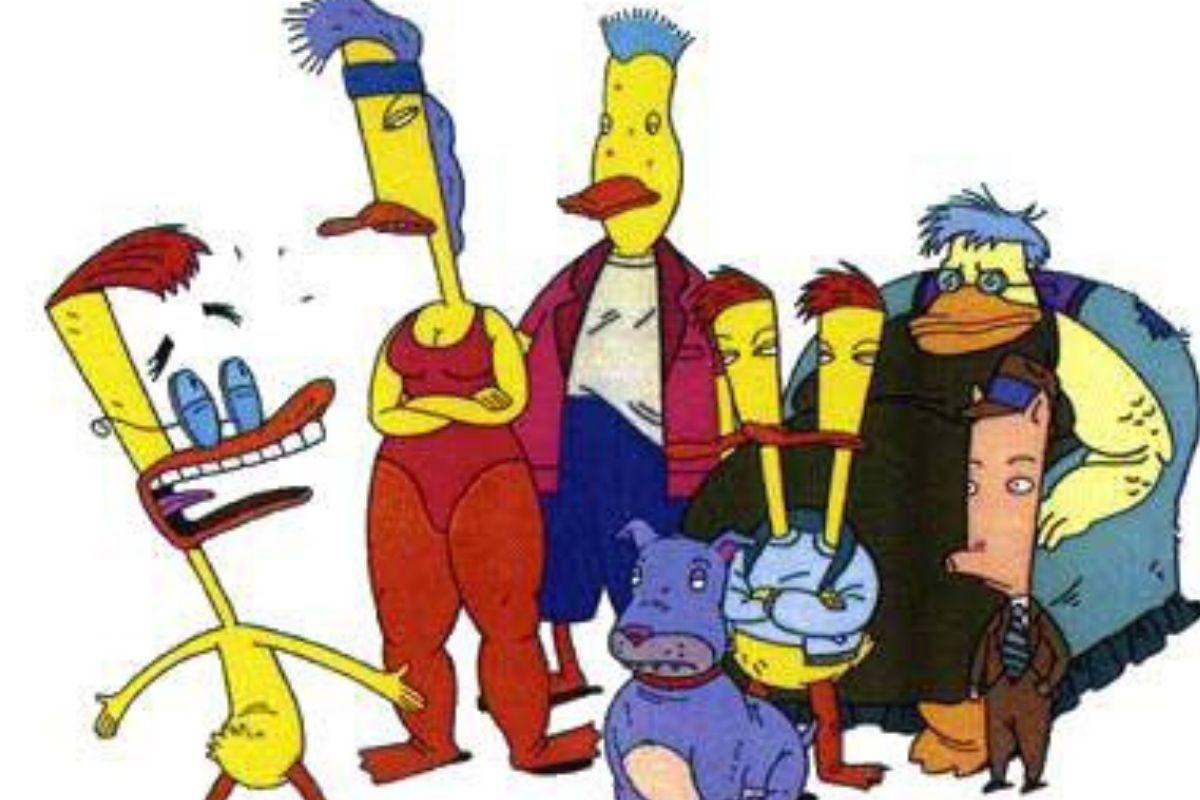 Duckman cartoon show
