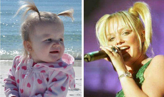 baby spice look alike