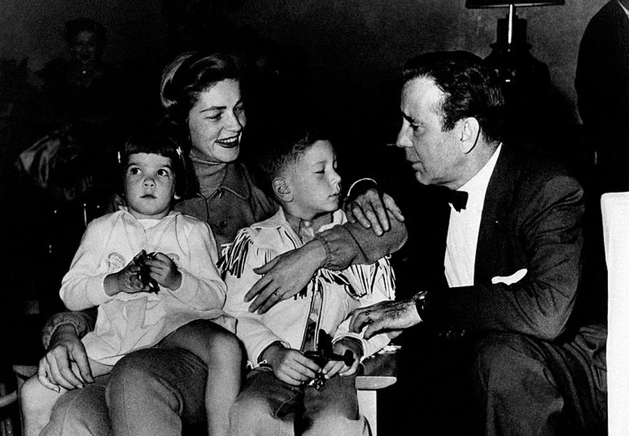 the bogart and bacall family