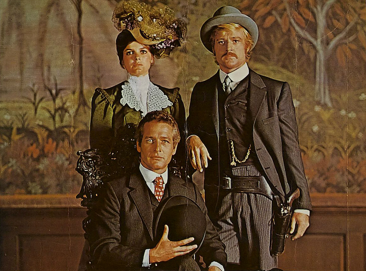a publicity still for butch cassidy and the sundance kid
