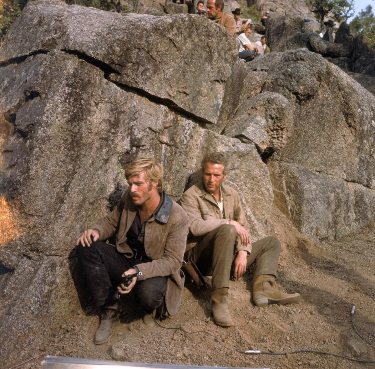 behind the scenes of butch cassidy and the sundance kid river jump