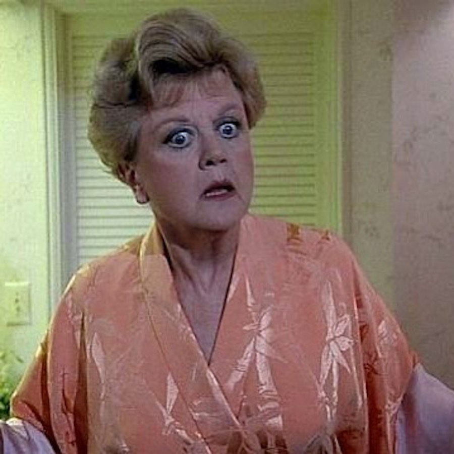 surprised lansburry on murder she wrote