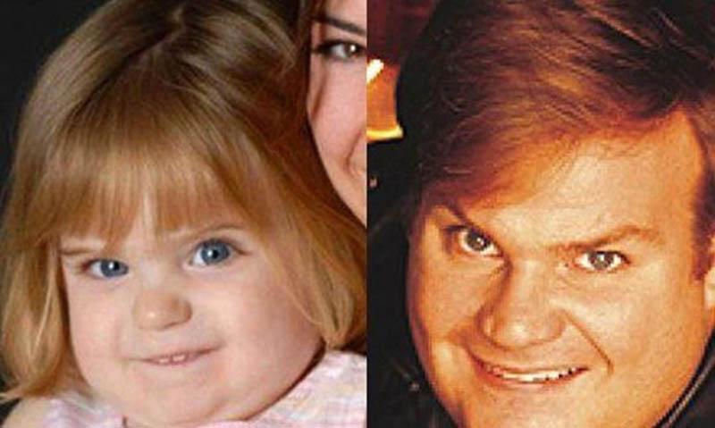 chris farley kid look alike