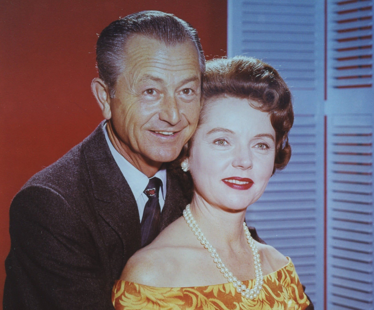 Jane Wyatt and Robert Young in promo shot for Father Knows Best