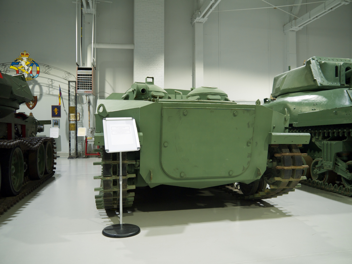 Bobcat APC in the Base Borden Military Museum