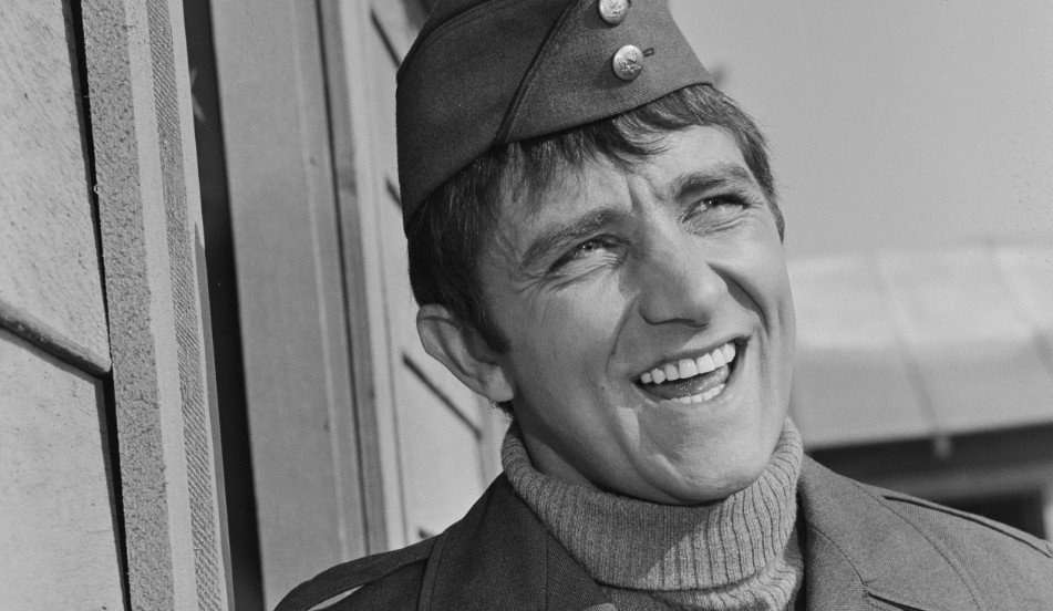a photo of richard dawson on hogans heroes