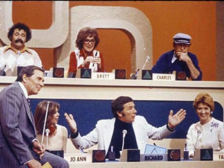 richard dawson at a telethon