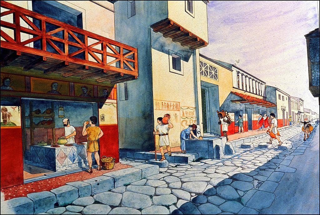 Market in Pompeii