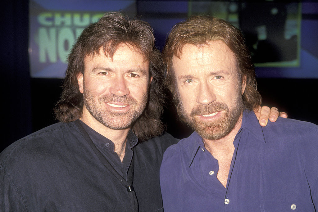 chuck norris worked with his family on walker texas ranger