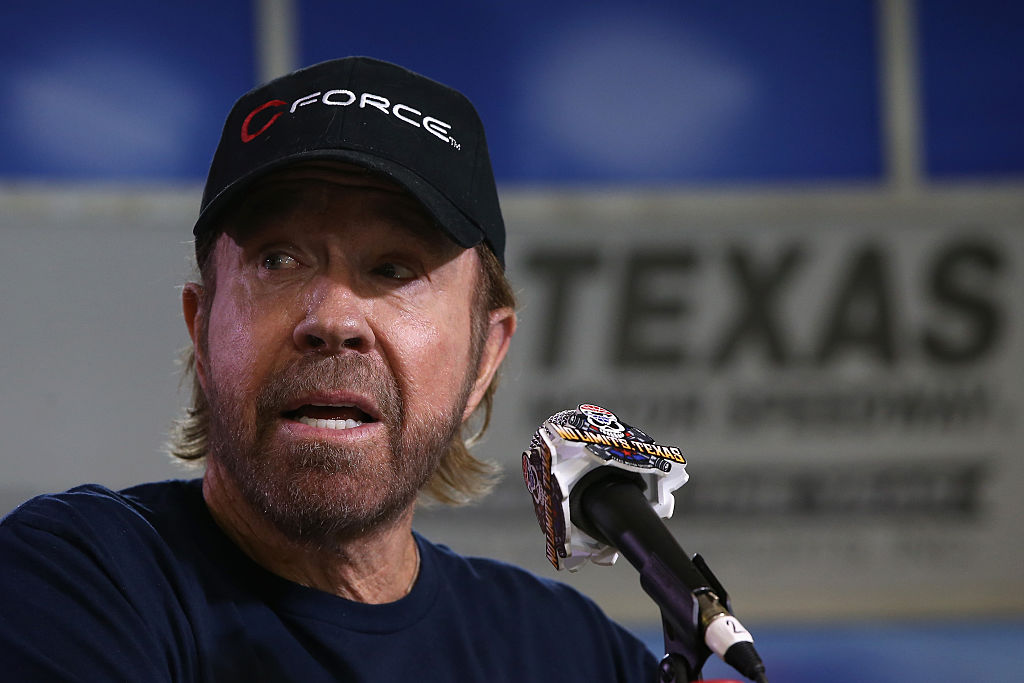 chuck norris was tricked into debating the violence of walker texas ranger