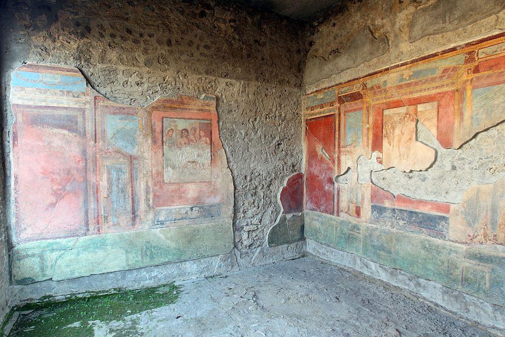 Deteriorating frescos