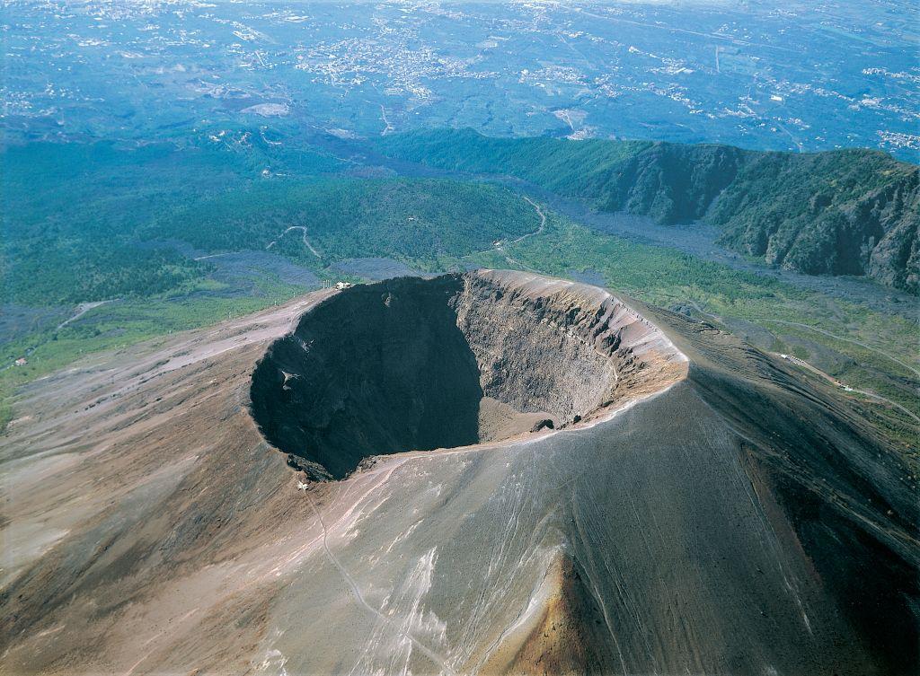 Modern day Vesuvius