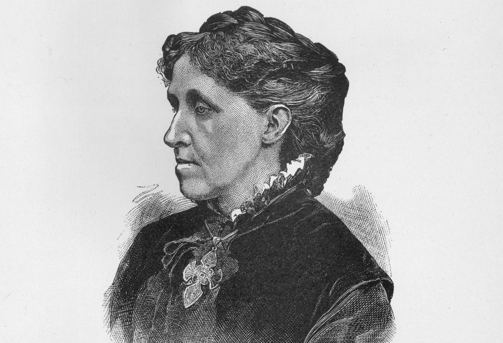 sketch of louisa may alcott