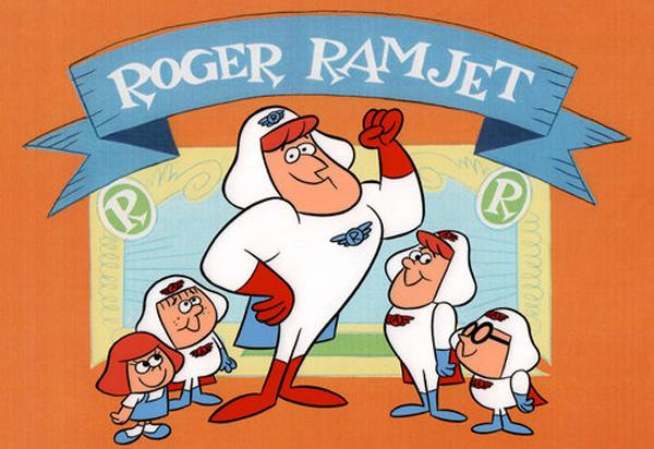 RogerRamjetCast-PresentationCel-CC-00185-90063-74490