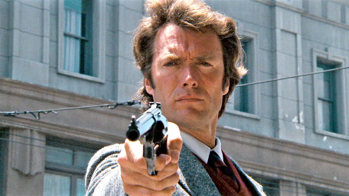 Dirty Harry with a gun