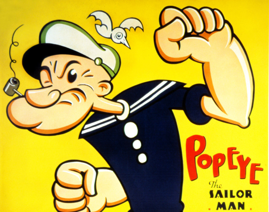 popeye was voiced by an apprentice