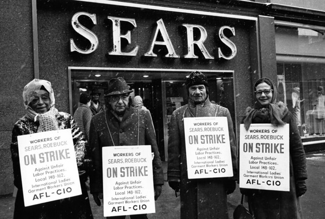 sears workers strike