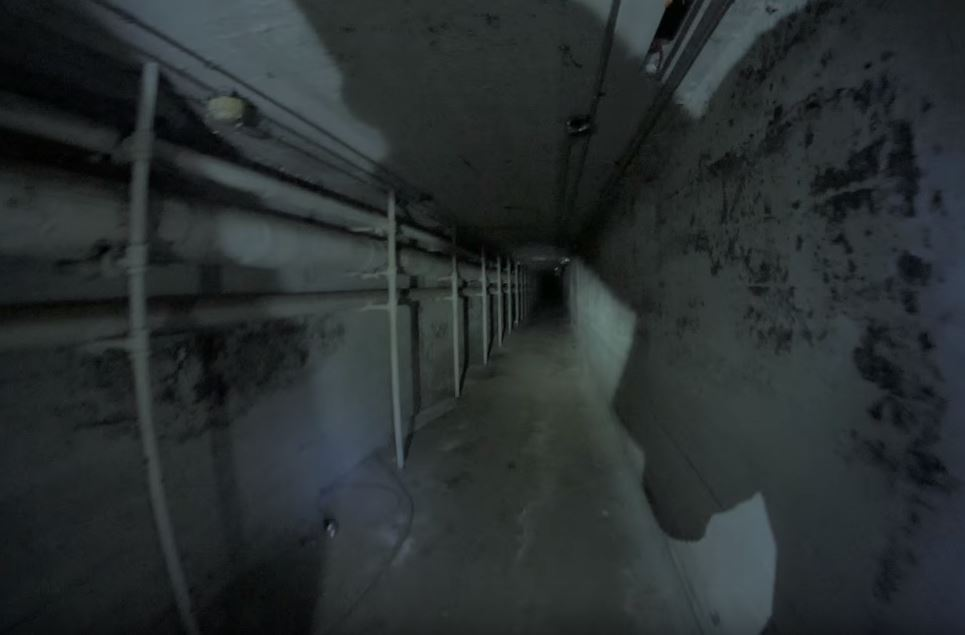 Urban explorers travel through Tranquille Sanatorium's underground tunnels