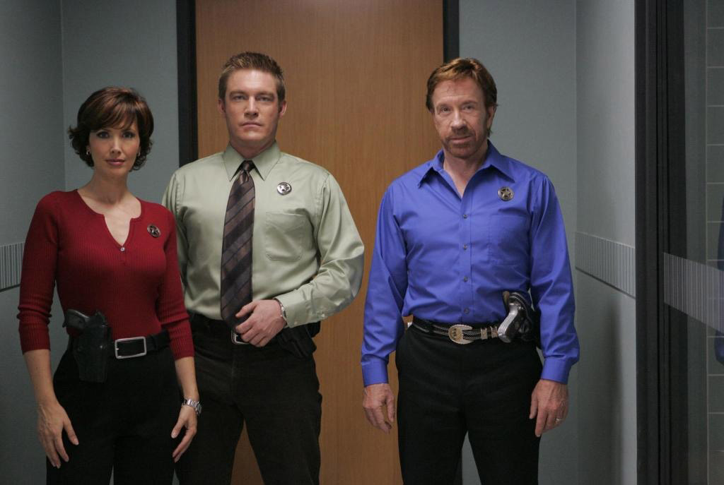 walker texas ranger was considered too violet when it came out