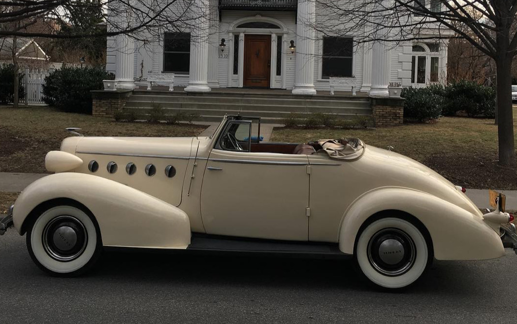 1935 LaSalle art deco cars