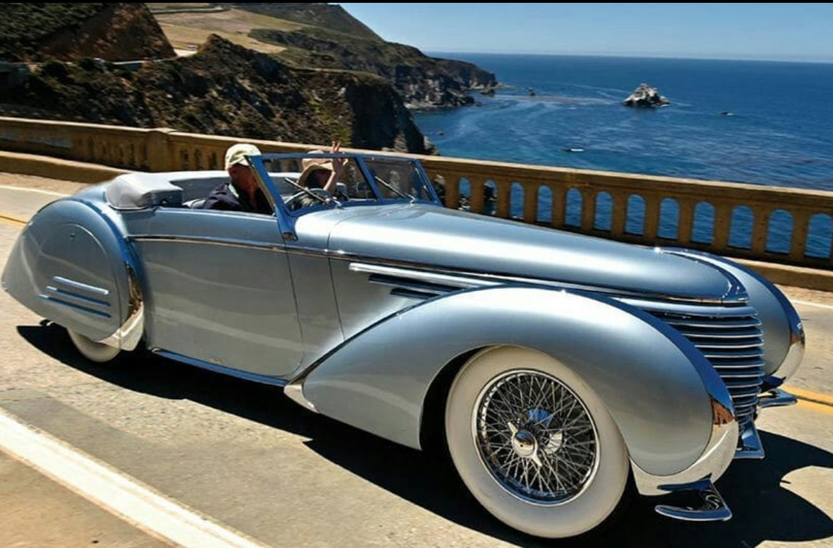 1937 Delahaye 145 art deco cars