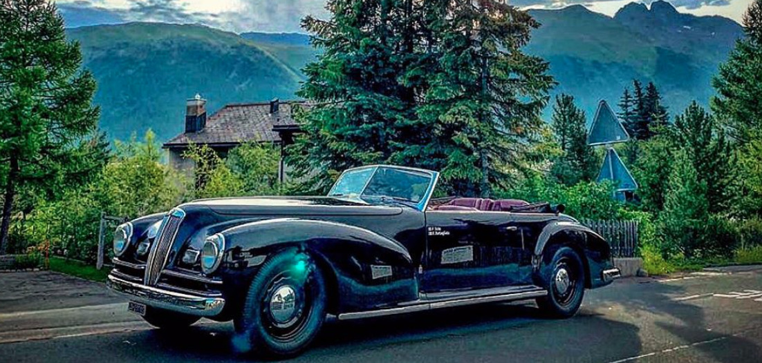 1939 Lancia Astura art deco cars