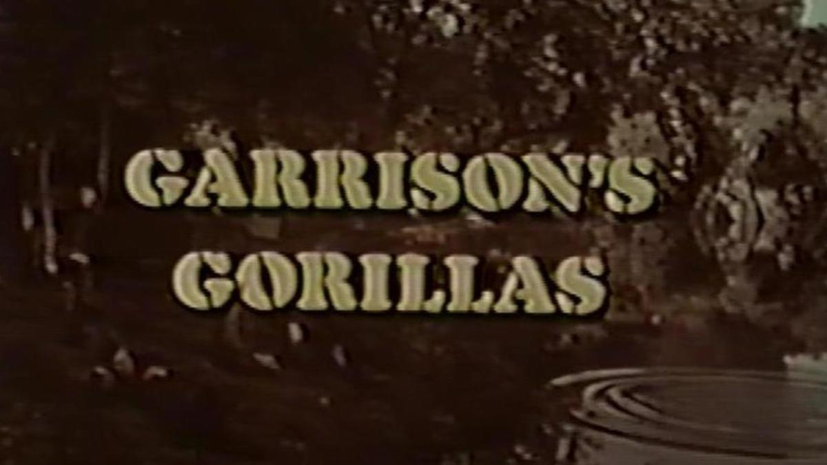 garrisons gorillas tv show