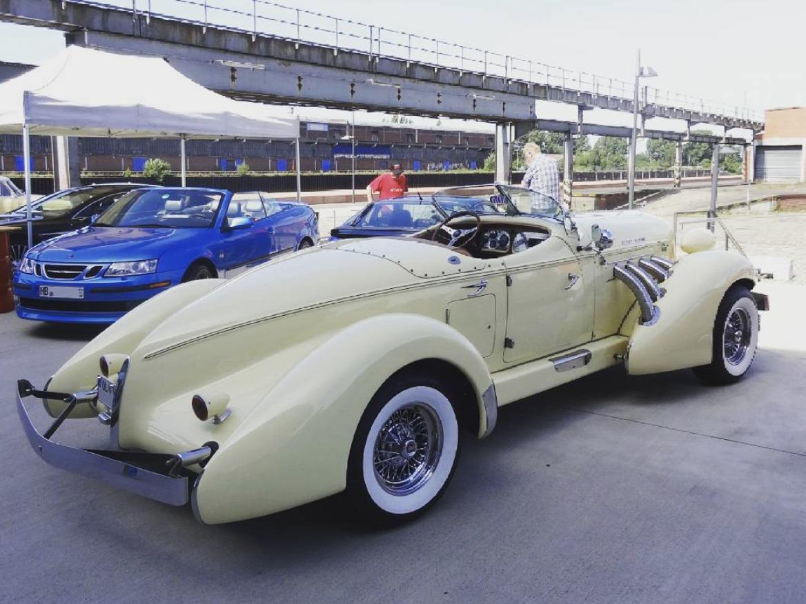 Auburn Boattail art deco cars