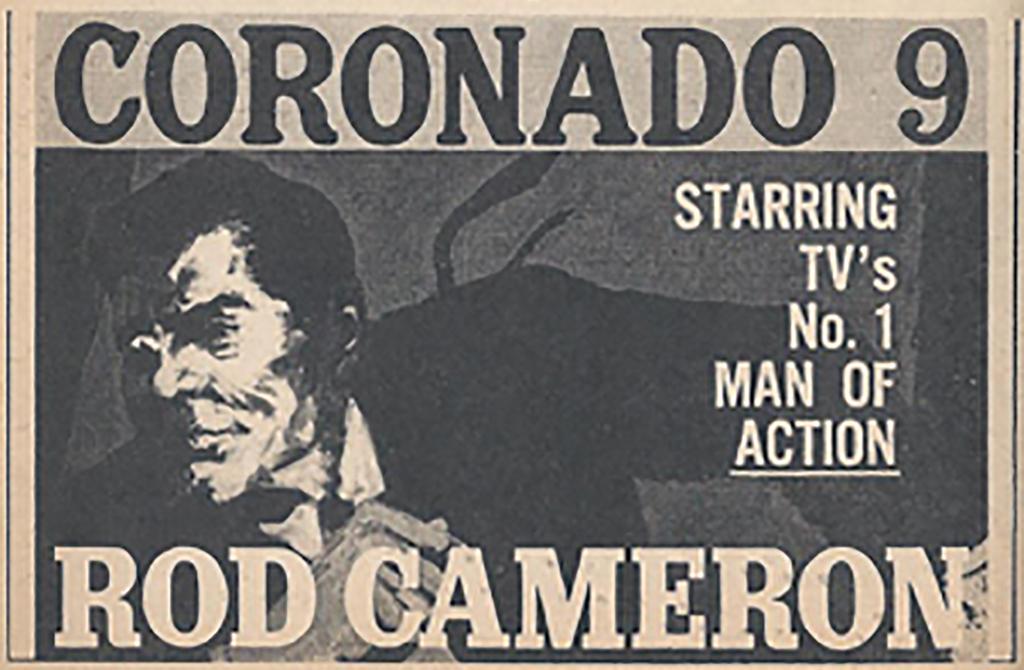 Coronado 9 TV ad