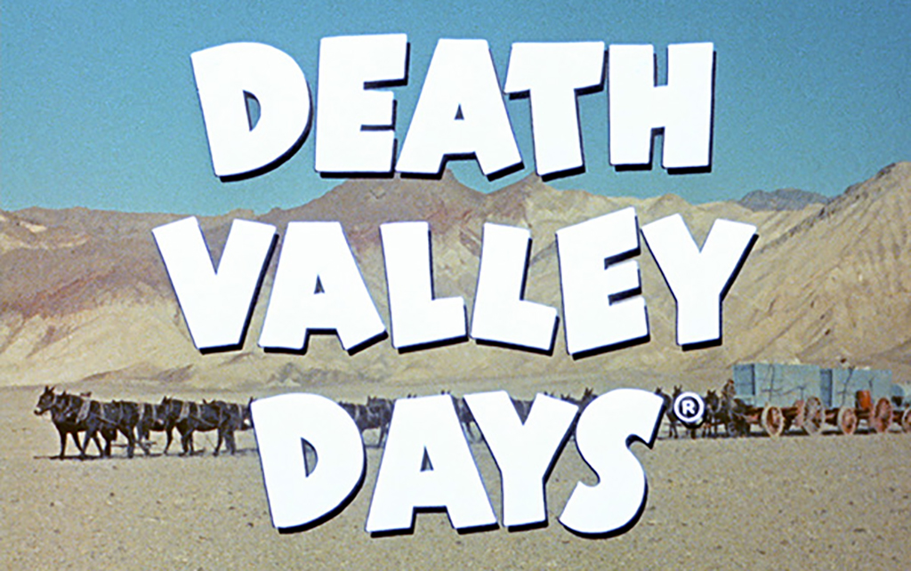 Death Valley Days title page