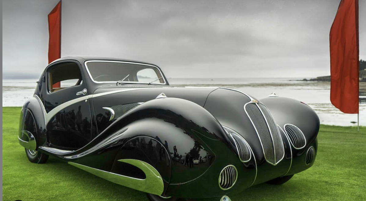 Delahaye 135 Competition Court Figoni et Falaschi Coupe art deco cars