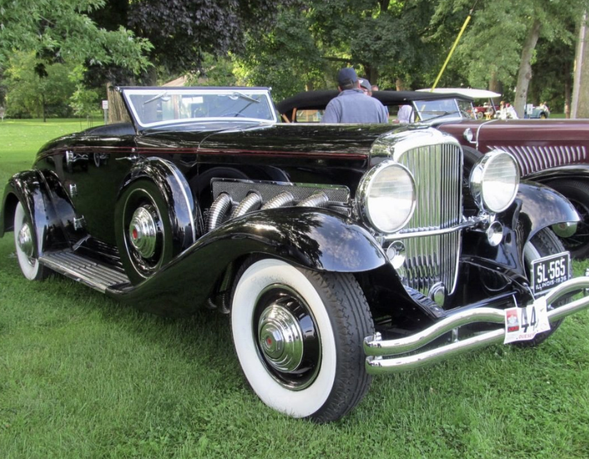Duesenberg Model J Derham Tourster art deco cars