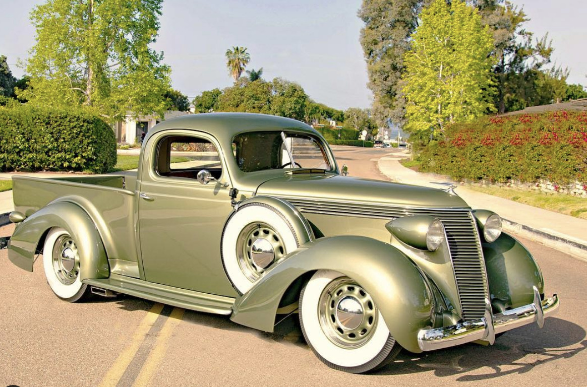 Foose Custom Studebaker Convertible art deco cars