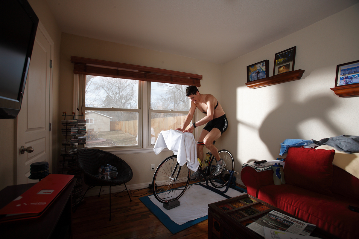 bike in living room
