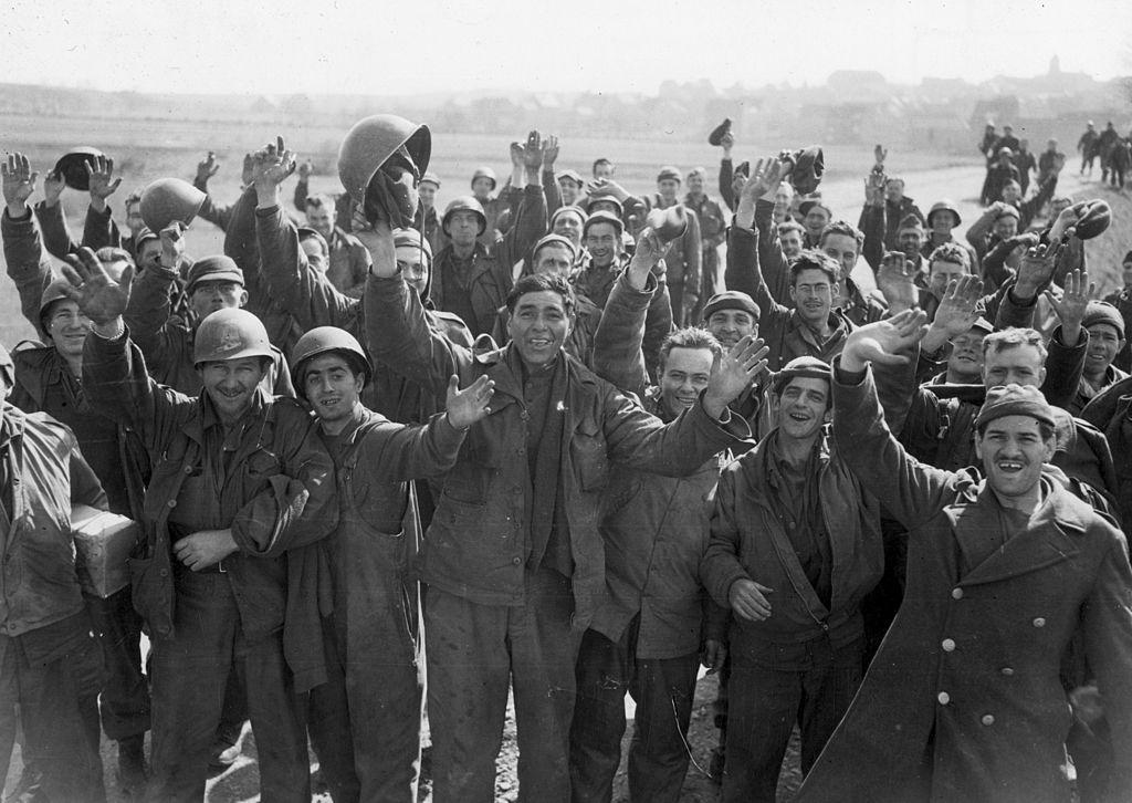 Freed US POWs