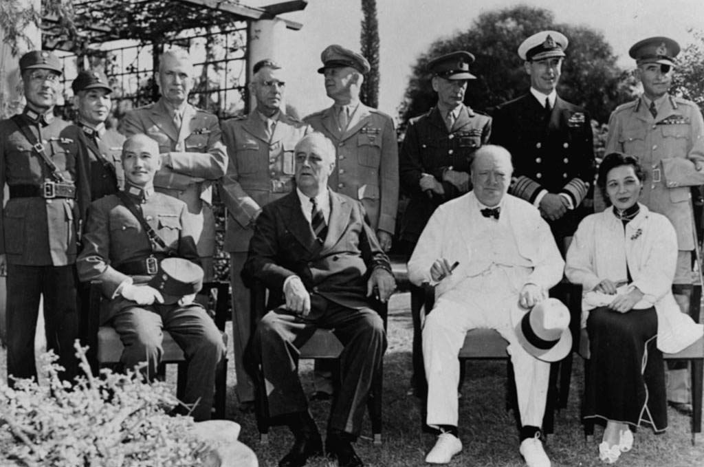 Carton de Wiart with world leaders