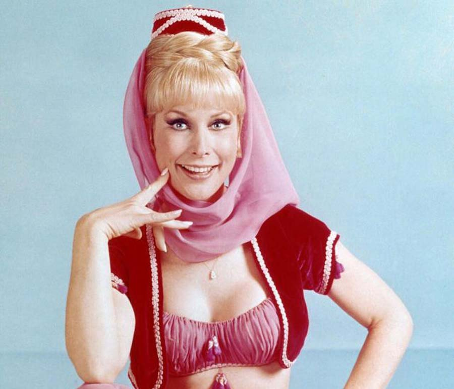 Barbara Eden in her