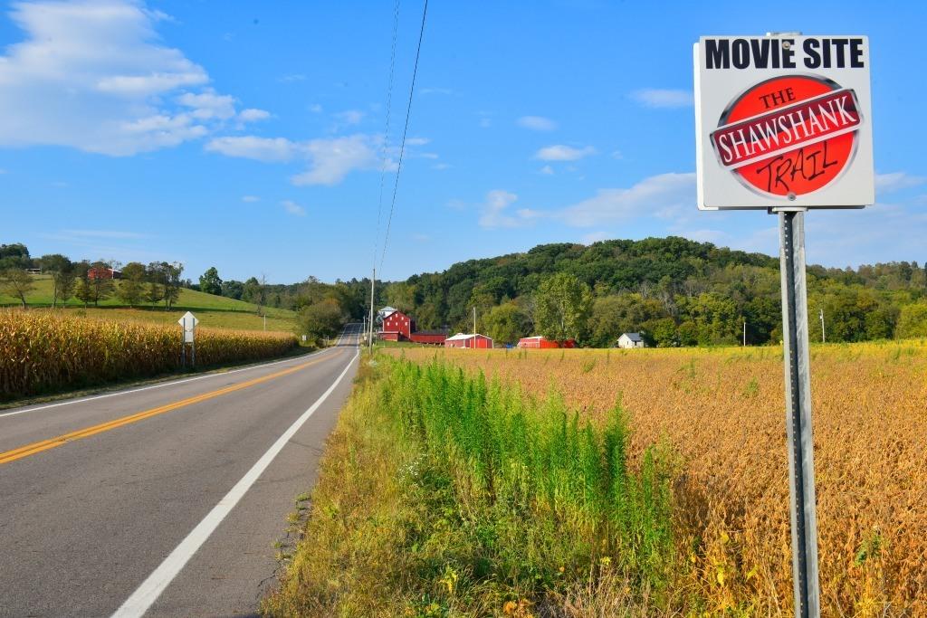 Shawshank Trail sign