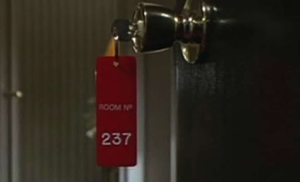 Keys to room 237 the Shining