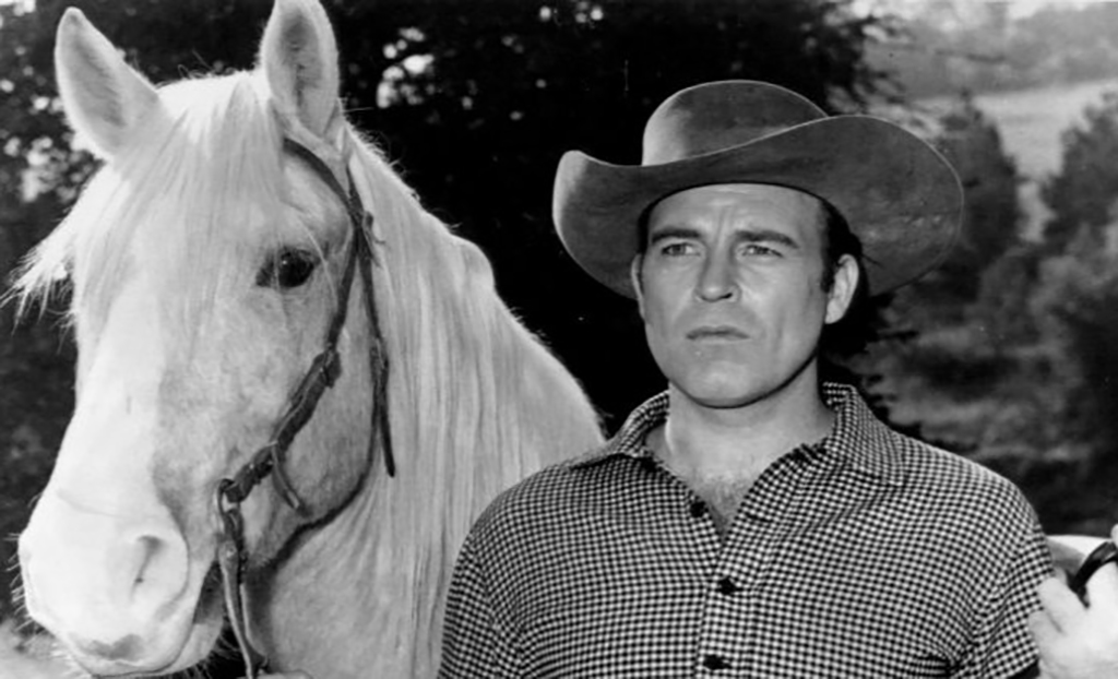 Slade with horse