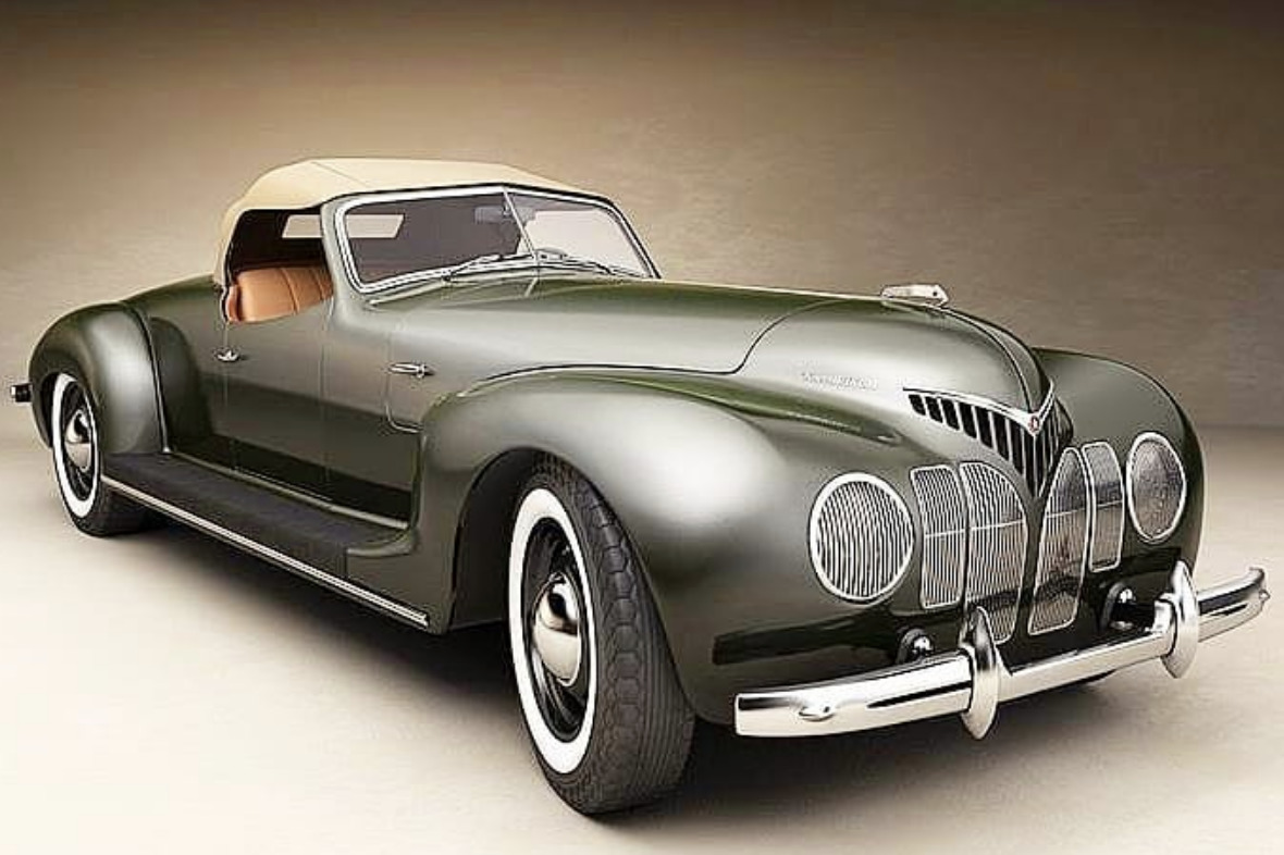ZIS-101 Sport Coupe art deco cars