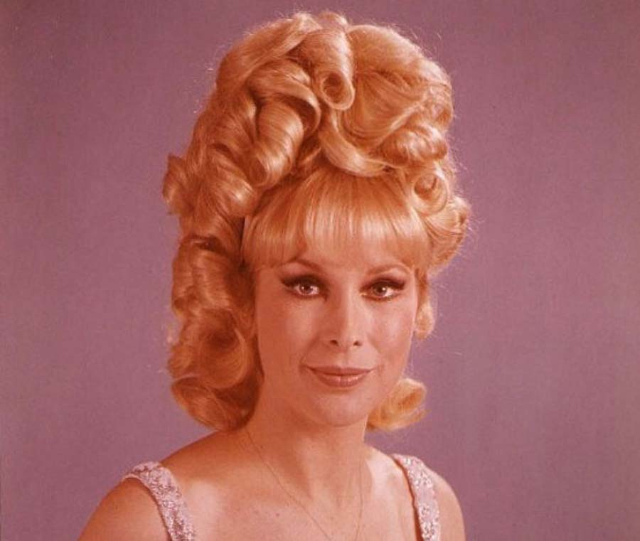 Barbara Eden's '60s hairdo